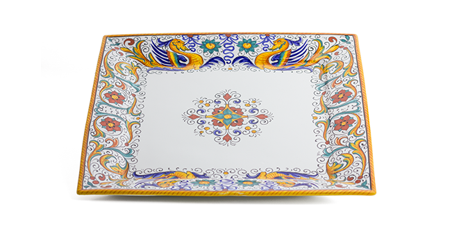 Raffaellesco Square Tray